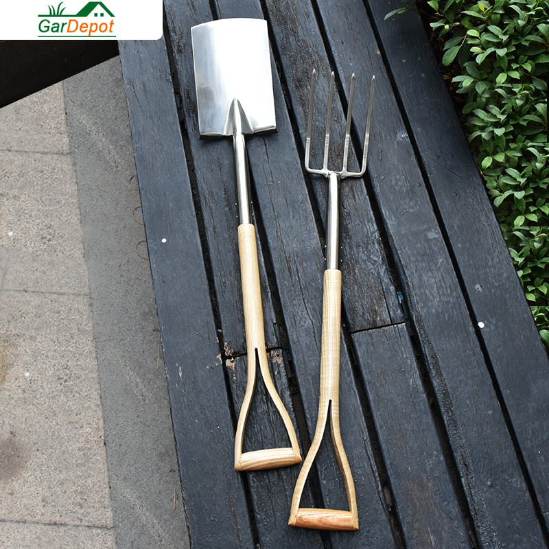 Stainless Steel Blade and Fork