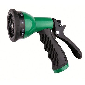 9 adjustable pattern plastic spray nozzle