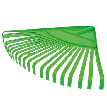 Garden Plastic Leaf Rake,Durable Plastic Head 22 Tines