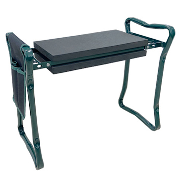 Foldable Garden Stool With Tool Pouches